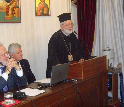 Στιγμιότυπο από την εκδήλωση της Εστίας Θεολόγων Χάλκης