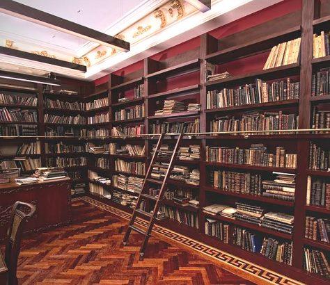 Σισμανόγλειο Μέγαρο, η βιβλιοθήκη