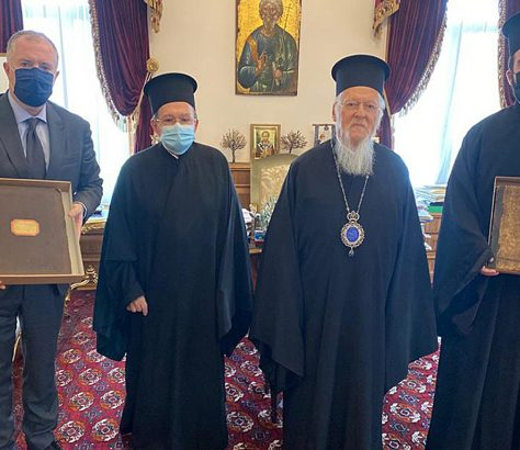 Κώδικες του Μεγάλου Ρεύματος στο Οικουμενικό Πατριαρχείο