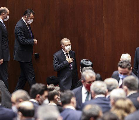 Ο πρόεδρος Ερντογάν στην παρουσίαση του σχέδιου δράσης για τα ανθρώπινα δικαιώματα στην Τουρκία