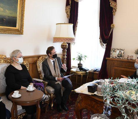 Ο επί κεφαλής της Ε.Ε. στην Τουρκία επισκέφτηκε τον Οικουμενικό Πατριάρχη